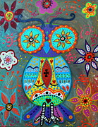 Pristine Cartera Turkus - Whimsical Wise Owl