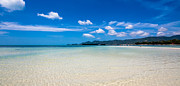 Fototrav Print - White sand beach on Koh Samui island in...
