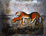 The Tiger Paintings - Wild India by Sumit Banerjee
