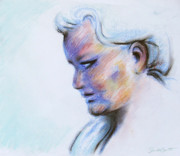 Angelic Pastels Prints - Wind Mother Print by Samantha Geernaert