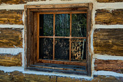 Pioneer Scene Photo Posters - Window Reflection Poster by Paul Freidlund