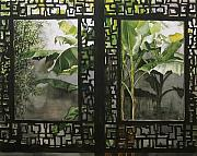 Alfred Ng - Window with bamboo and banana plant