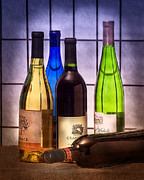 "\""still Life Photography\\\"" Prints - Wines Print by Tom Mc Nemar"
