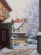 Piotr Olech - Winter in the town 2