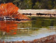 Nancy Merkle - Winter on the River