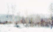 Jenny Rainbow - Winter Painting II. Aquarel by Nature