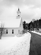 Edward Fielding - Winter Vermont Church