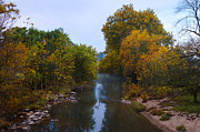Fall Art - Wissahickon Creek in Whitemarsh by Bill Cannon