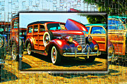 Woodies Framed Prints - Woody World Framed Print by Robert Roland