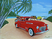 American Automobiles Originals - Wreck Beach by Anthony Dunphy