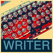 Typewriter Photos - Writer by Karyn Robinson