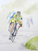 Le Tour De France Posters - Yellow Jersey Poster by Yamini Khare