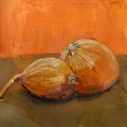 Michelle Calkins - Yellow Onions Still Life