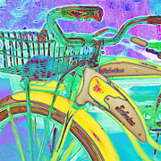 Old Bikes Posters - Yesterday It Seemed Life Was So Wonderful 5D25760 Square m38 Poster by Wingsdomain Art and Photography