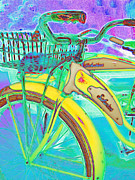 Old Bikes Framed Prints - Yesterday It Seemed Life Was So Wonderful 5D25760 Vertical m38 Framed Print by Wingsdomain Art and Photography