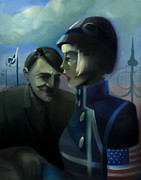 Hitler Paintings - You Are Included by Neal Cormier