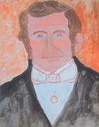 President Mixed Media Originals - Young Wilford Woodruff destined to be prophet of God 1 by Richard W Linford