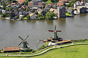 North Holland Prints - Zaanse Schans Zaandam, Noord-holland Print by Bram van de Biezen