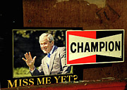 George Bush Acrylic Prints -  Champ Not Villain Acrylic Print by Joe JAKE Pratt