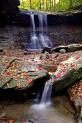 Autumn Water Prints - Blue Hen Falls Print by Robert Harmon