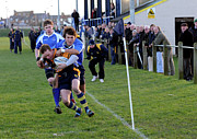 Rugby Union Metal Prints - Bridlington RUFC v North Ribblesdale RUFC Metal Print by David  Hollingworth