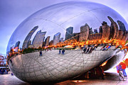 Mark Currier Art - Chicago Bean by Mark Currier