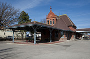 Chicago Photography Originals - Chicago Rock Island Pacific Railway Depot by Paul Cannon