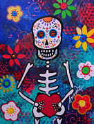 Pristine Cartera Turkus - Corazon Day Of The Dead