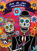 Pristine Cartera Turkus - Couple Day Of The Dead