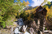 Colorado Prints - Crystal Mill Print by Steve Stuller