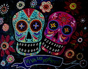 Pristine Cartera Turkus - Day Of The Dead Couple