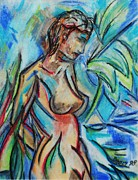 Waterfall Pastels Originals - Dream Girl 98 by Bradley