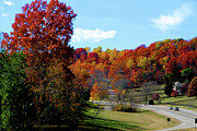 Natchez Trace Posters - Fall Drive in Tennessee Poster by EricaMaxine  Price