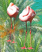 Lizi Beard-Ward - Flamingo Siesta