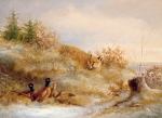 Anonymous - Fox and Pheasants in Winter