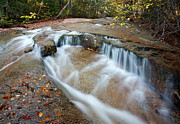 Fall Scenes Photos - Ledge Brook - White Mountains New Hampshire USA by Erin Paul Donovan