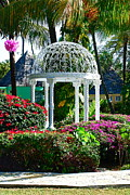 Gazebo Greeting Card Prints - Meet me here Print by Kathy Gibbons