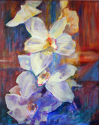 B Rossitto - Orchids Behind Glass