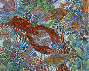 Underwater Prints - Red Lobster Print by Erika Pochybova-Johnson