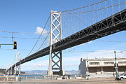 Wingsdomain Art and Photography - San Francisco Bay Bridge at The...