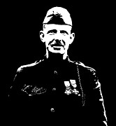 Wwi Prints - Sergeant Alvin York Print by War Is Hell Store