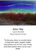 Realization Digital Art - Solar Sky by Laurel D Rund