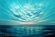 Sunsets Original Paintings - Sunset Quest by Gina De Gorna