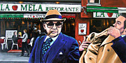 Mafia Paintings - The Don has Arrived by David Tuminello