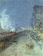 Childe Hassam - The El