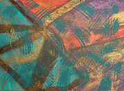 Kate Farrant - Turquoise Abstract