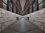 Digital Art Prints - Urban Tension Print by Robert Ullmann