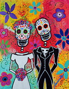 Pristine Cartera Turkus - Wedding Day Of The Dead