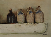 Jugs Prints - Williamsburg Jugs Print by Michael Brothers