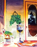 Historic Home Painting Prints - Youve Got Mail Print by Greg Halom